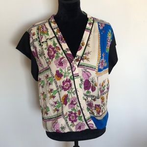 Brand new Anthropologie scarf top
